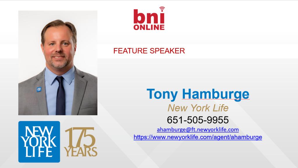Tony Hamburge - New York Life
